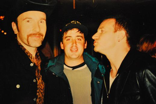 Paul Schulz U2 Bono and The Edge If God would send his angels Hollywooddetroit.com